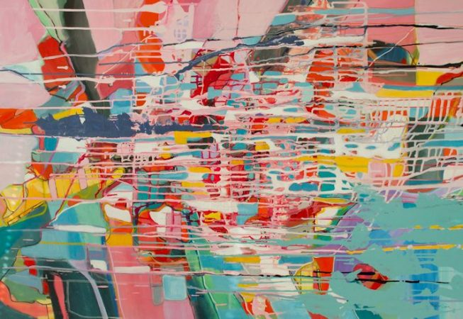 Close to the Sea Mixed Media on canvas 152cm x 102cm