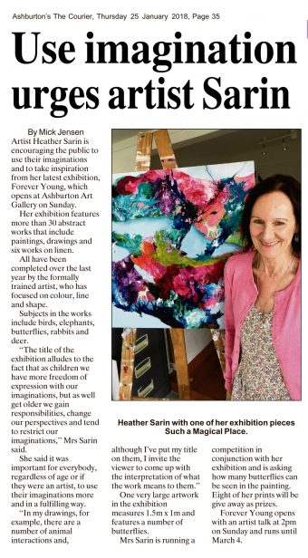 Ashburton's The Courier 25 January 2018